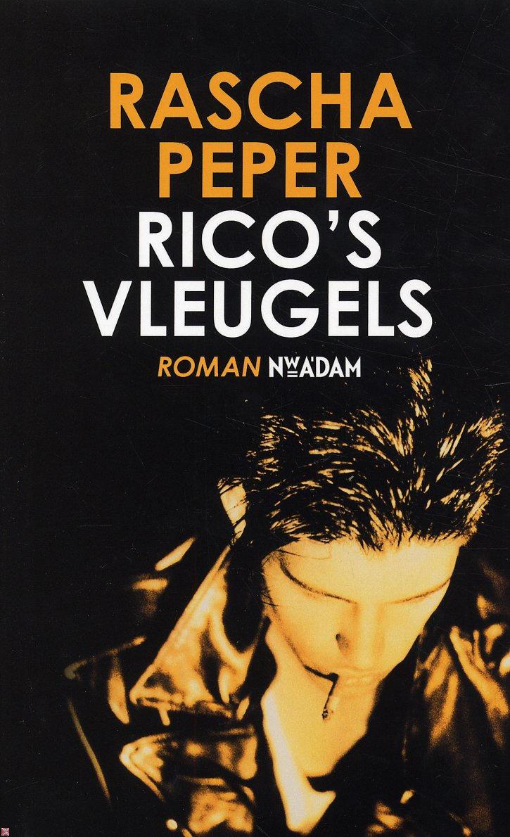 Boekcover Rico's vleugels