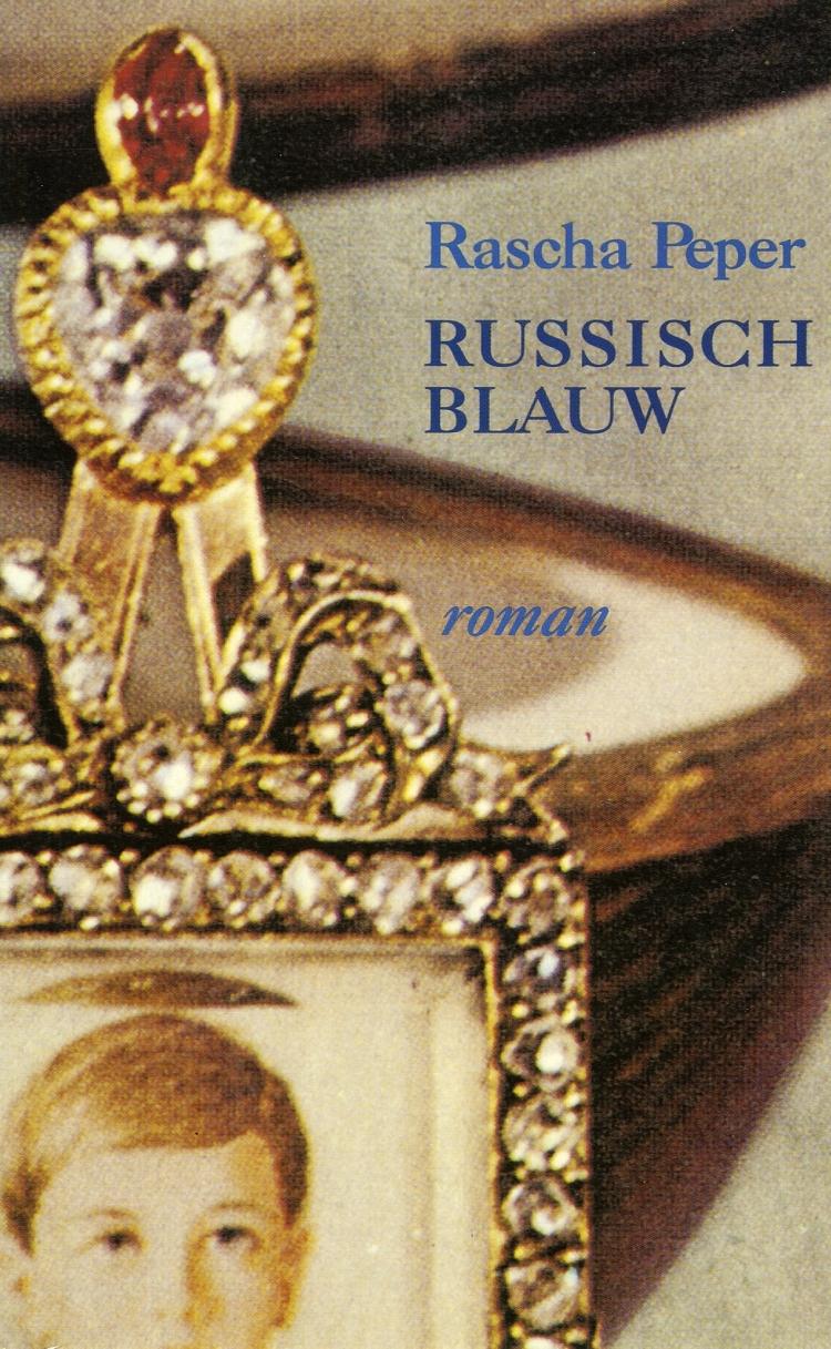Boekcover Russisch blauw