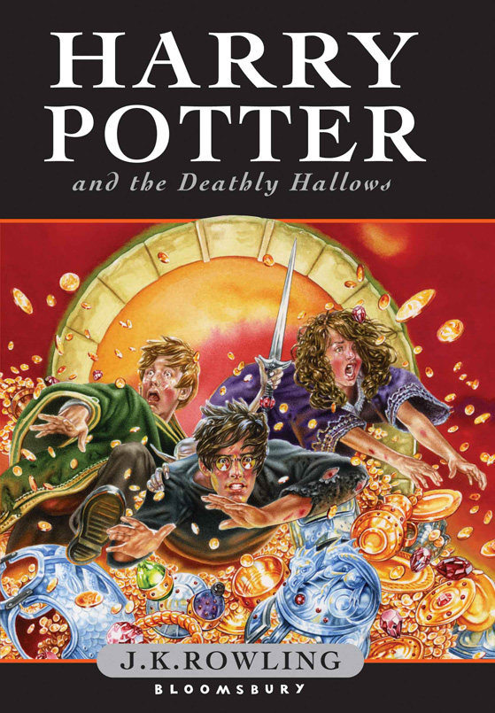 Boekcover Harry Potter and the Deathly Hallows