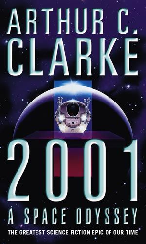 Boekcover 2001, A space odyssey