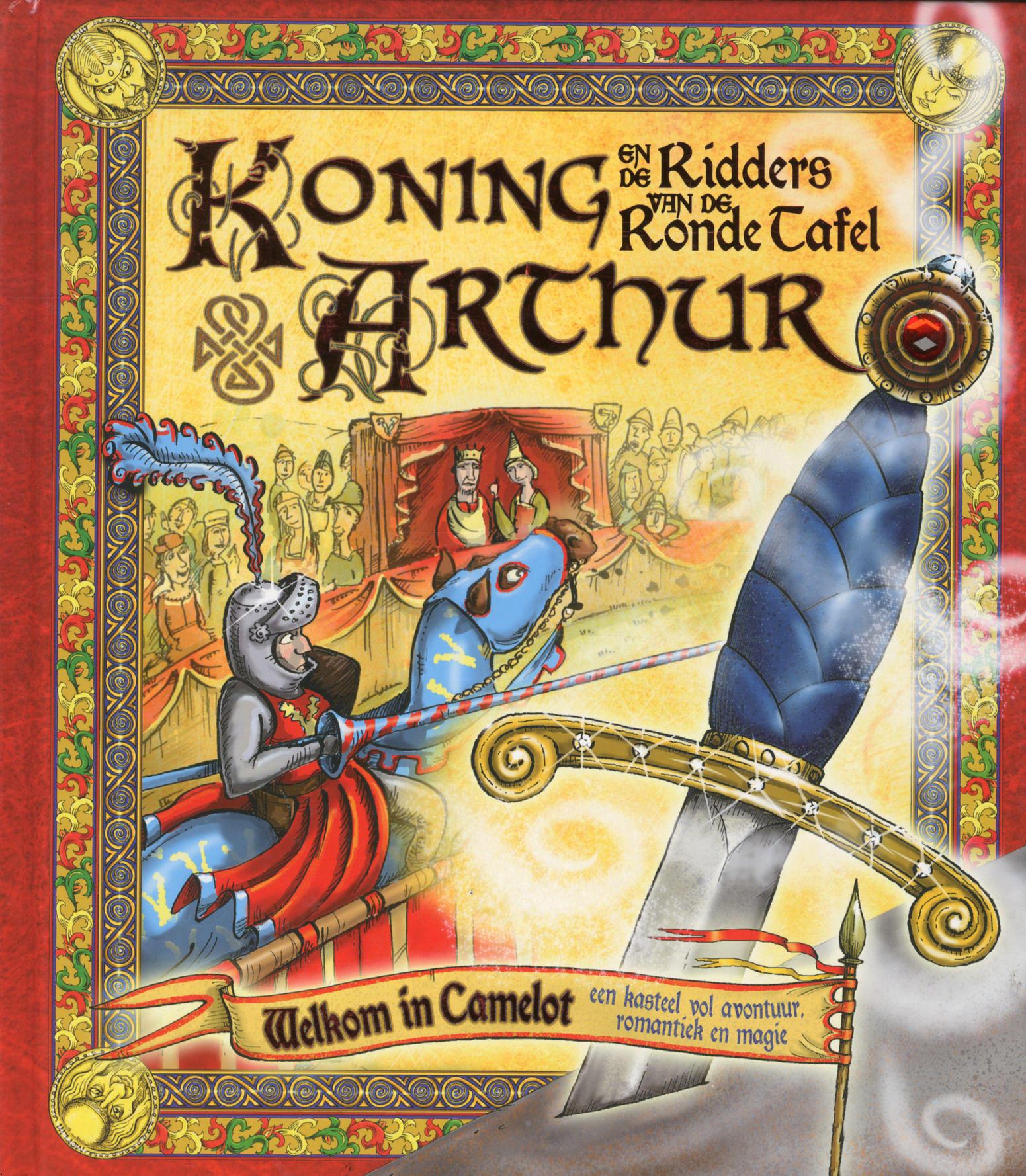 Koning Arthur Ronde Tafel.Koning Arthur En De Ridders Van De Ronde Tafel Door Onbekend