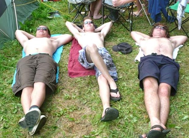 Blogger Bram (rechts) en zijn scouting-matties