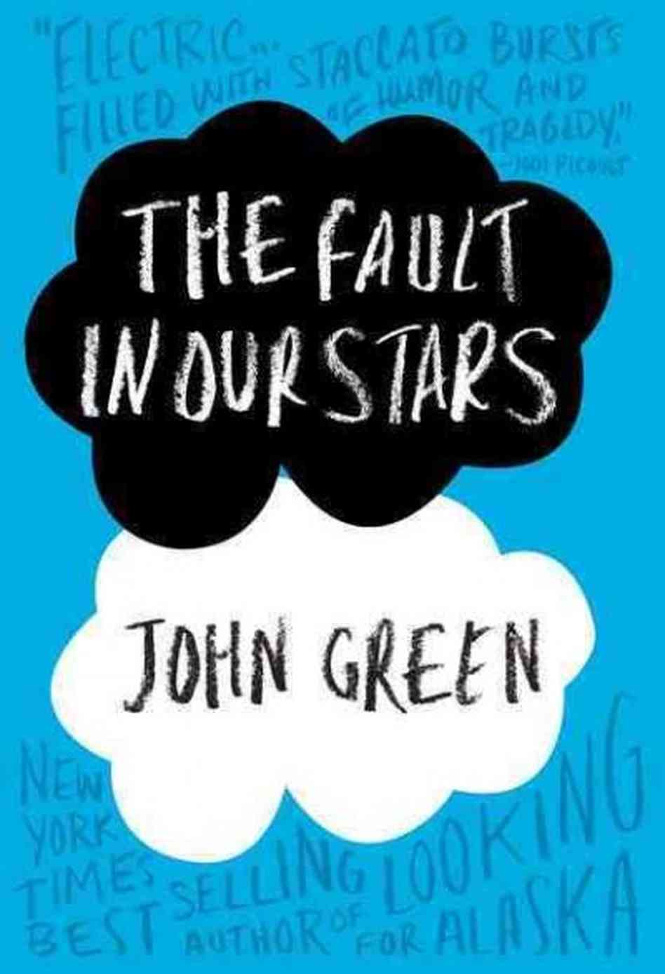 Boekcover The fault in our stars