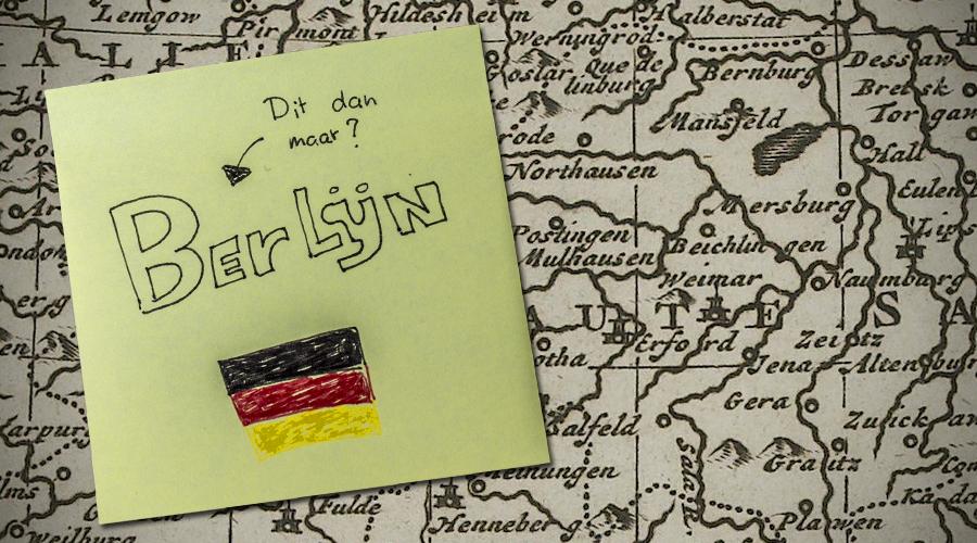 Radeloos boekte ik een reisje naar Berlijn