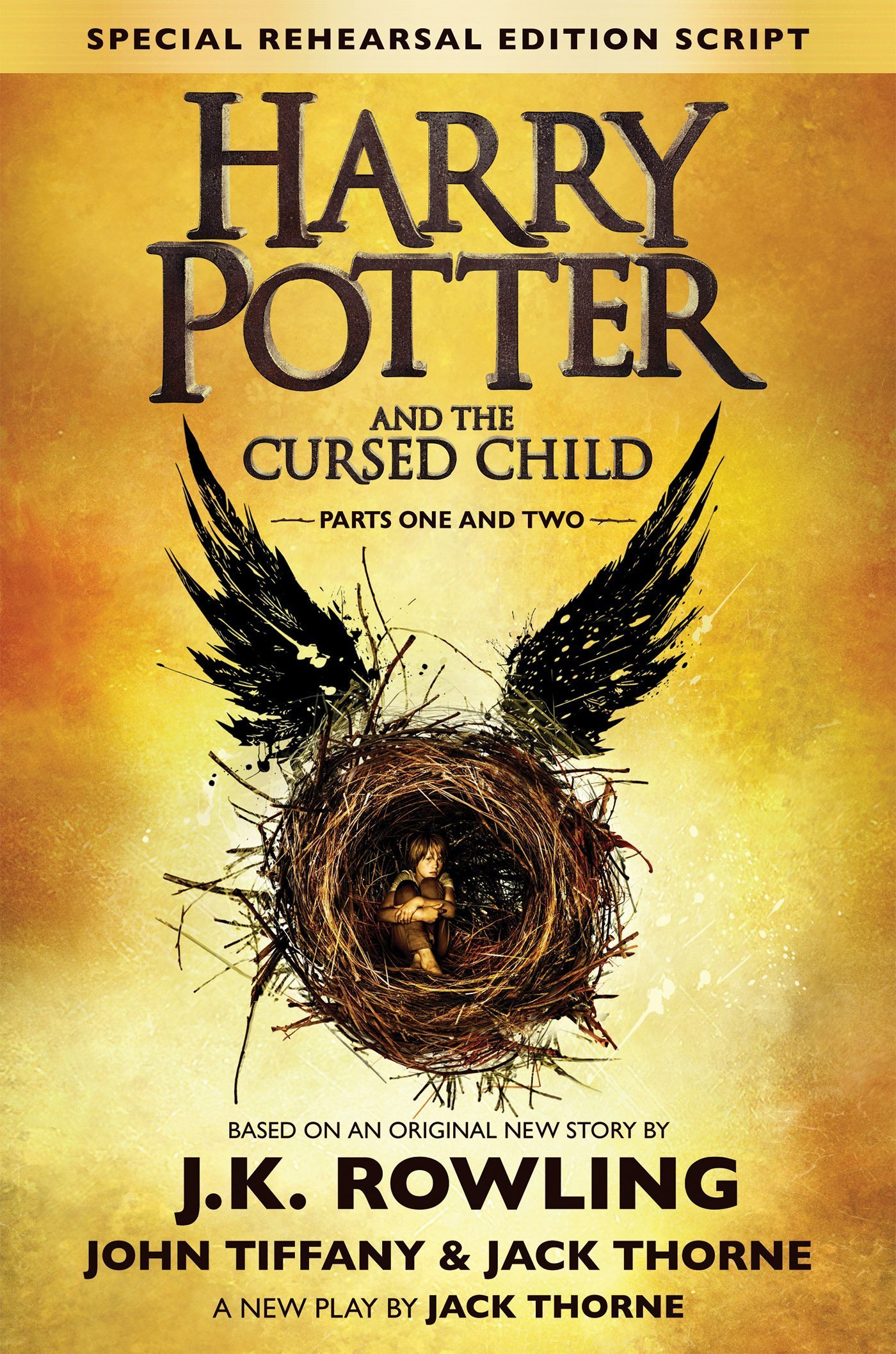 Boekcover Harry Potter and the Cursed Child