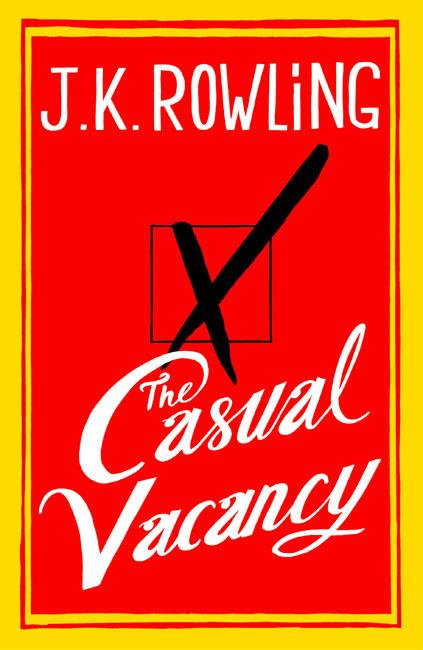Boekcover The Casual Vacancy