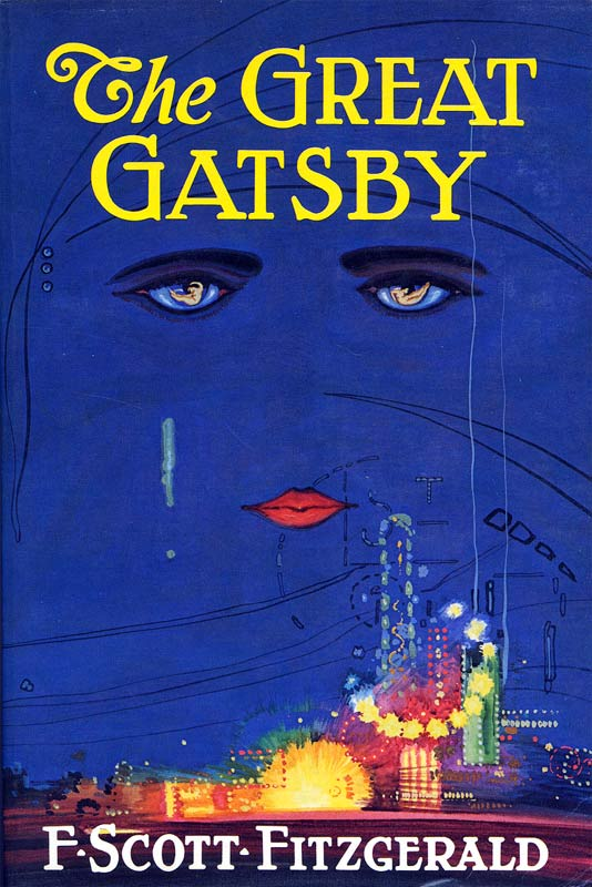 Boekcover The great Gatsby