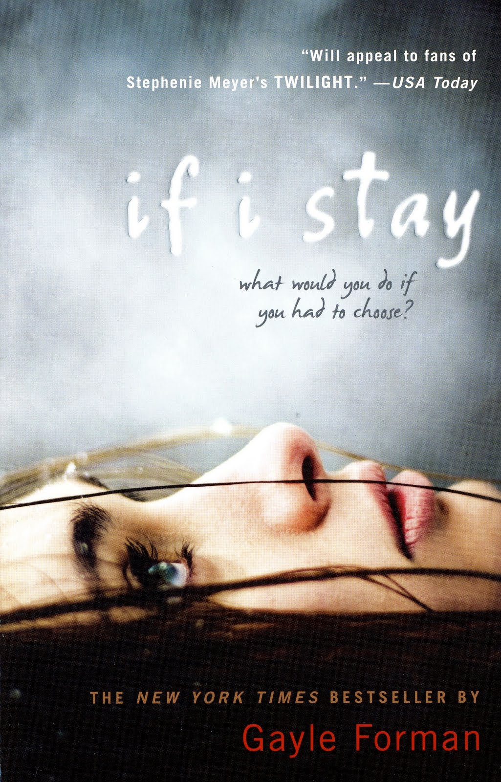 Boekcover If I stay