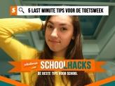Schoolhacks: 5 last minute tips voor de toetsweek