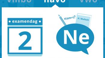 Een relatief makkelijk examen Nederlands voor havo