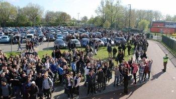 Schooldak in brand in Zoetermeer
