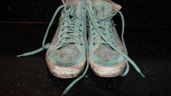 Zo groen als mijn schoenen