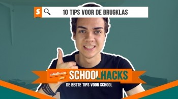 Schoolhacks | 10 tips voor de brugklas