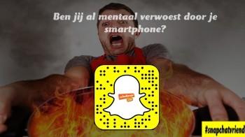 Snapchatvrienden: ben jij al mentaal verwoest door je smartphone?
