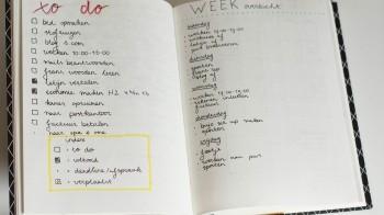 De heilige planmethode: Bullet journaling