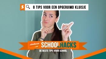 Schoolhacks: 8 tips voor een opgeruimd kluisje