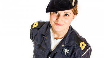Ghislaine studeert bij Defensie: 'Varen is het allerleukst'