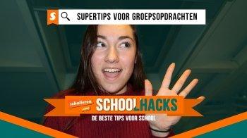 Schoolhacks: supertips voor groepsopdrachten