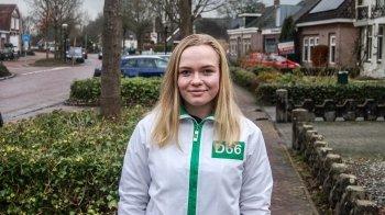 Kandidaat-raadslid Erinn (17):