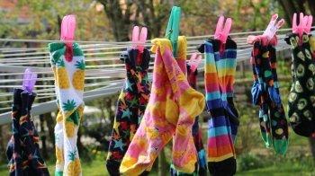Succesvol door kleurrijke sokken