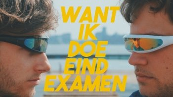Scholieren.com lanceert examenrap 'Want ik doe eindexamen'