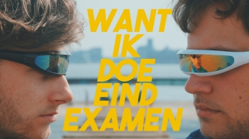 Skirre Bob ft. Fissa Dave - Want Ik Doe Eindexamen