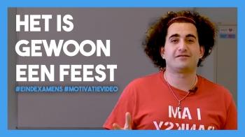 Volkan Tasdan ziet de examens als een feest: 'jullie weten alles!'