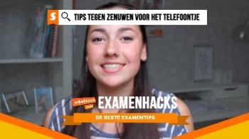 Examenhacks: tips tegen zenuwen voor het telefoontje