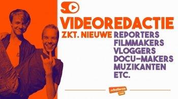 Vacature: videoredactie zkt. leden