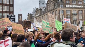 Dit waren de protestborden (en protestfietsen) van de tweede klimaatmars