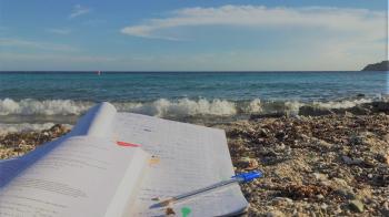 School in paradise
