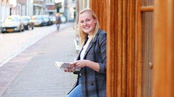 Iris studeert Nederlands:
