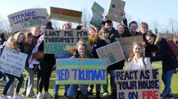 Klimaatspijbelaars uit 150 landen gaan de straat op