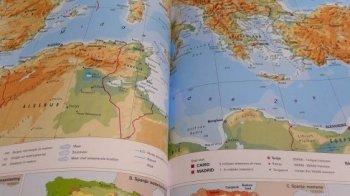Verboden atlas bij examen