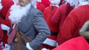 Kerstman maakt schooldirectie doodsbang