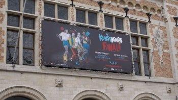 Plezier en zottigheid tijdens Belgische Kunstbende-finale