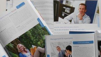 Reclamepraatjes in studiefolders