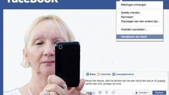 Weg met die Facebookvrienden
