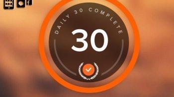 App: 30 minuten per dag bewegen