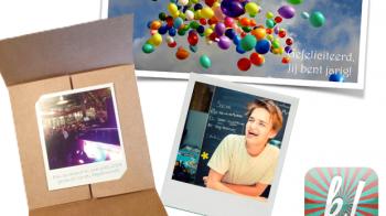 App: fotokaarten sturen met Klepper
