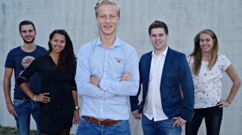 Thijs (19) begon de jongste raadsfractie van Nederland