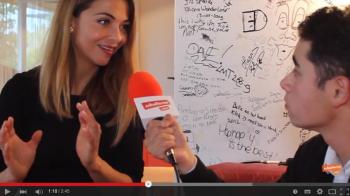 Georgina Verbaan geeft tips aan jonge filmmakers