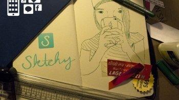 App: creatief met Sktchy