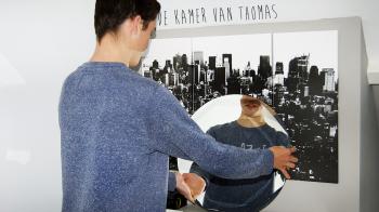In de kamer van Thomas
