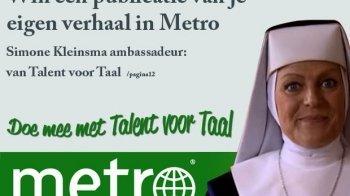 Doe mee aan Talent voor Taal!