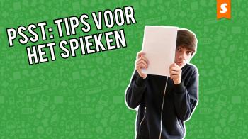 Schoolhacks: tips voor bij het spieken