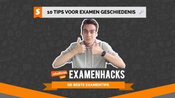 Examenhacks: 10 tips voor het examen geschiedenis