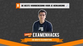 Examenhacks: de beste voorbereiding op je herexamen