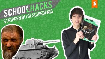 Schoolhacks: Strippen voor geschiedenis