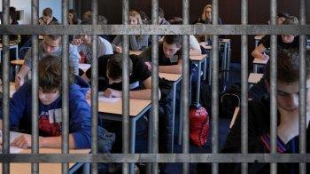 Voor straf naar school